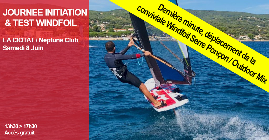 Windfoil - Journée initiations et test 8 juin 2019 La Ciotat